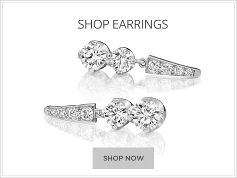 Wharton Goldsmith Diamond earrings for men and women