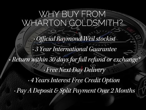 Raymond Weil Watches Wharton Goldsmith