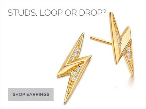 Astley Clarke Women's Jewellery Earrings Wharton Goldsmith