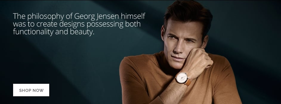 Georg Jensen watchs men and women Christopher Wharton Goldsmith