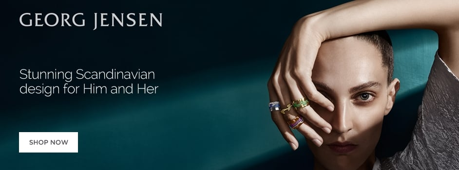 Georg Jensen Jewellery for Men and Women Wharton Goldsmith