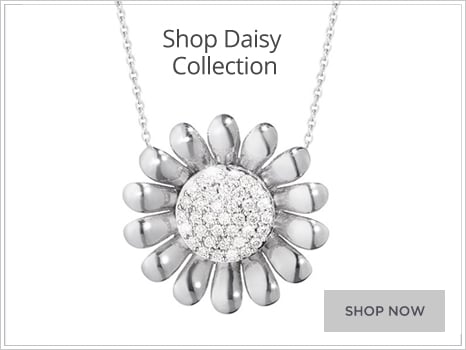 Georg Jensen Daisy Jewellery for Men and Women Wharton Goldsmith