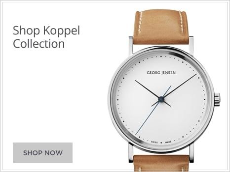 Georg Jensen Watches Koppel Delta Vivianna Concave Wharton Goldsmith