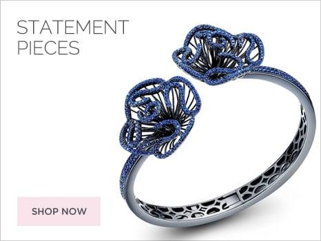 Fei Liu Women Jewellery Snowflake Collection Wharton Goldsmith