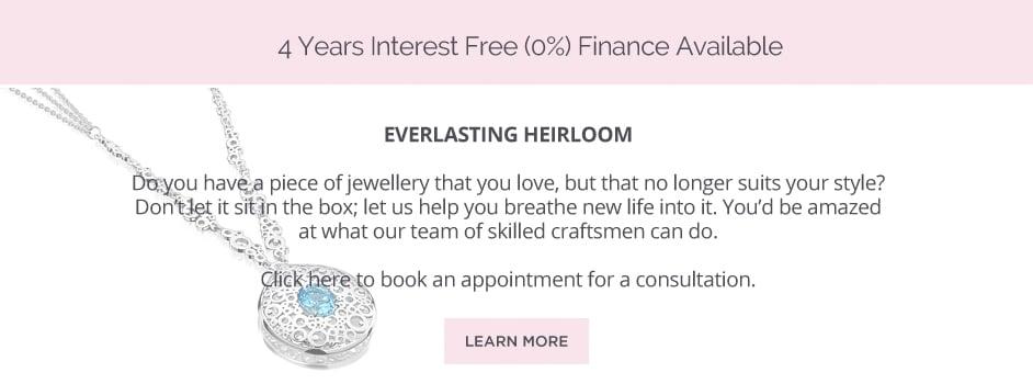 Everlasting heirloom jewellery remodelling service