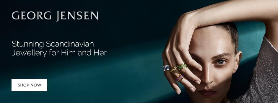 Georg Jensen Jewellery for Men and Women Wharton Goldsmith