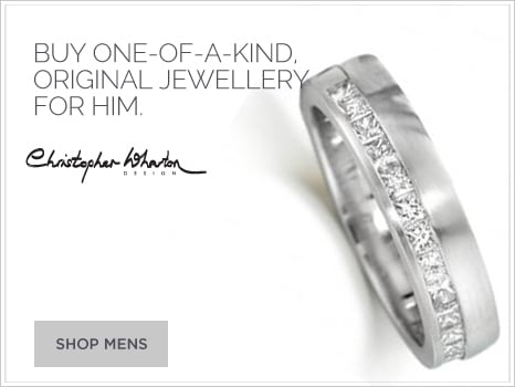 One of a kind Christopher Wharton Design jewellery for men
