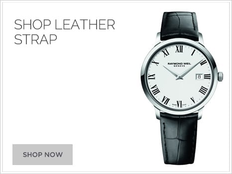 Raymond Weil Wharton Goldsmith Watches Leather Strap