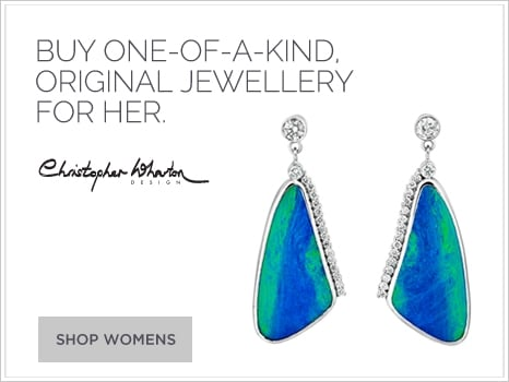 One of a kind Christopher Wharton jewellery for her