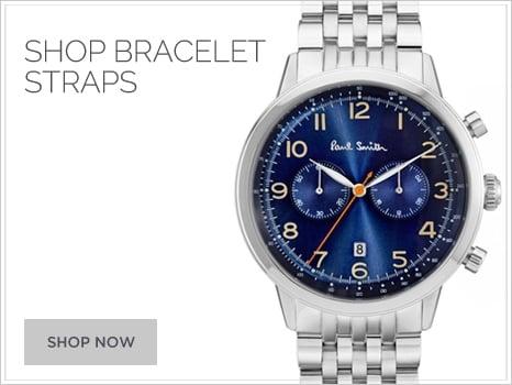 Paul Smith calf metal bracelet strap Men's Watch