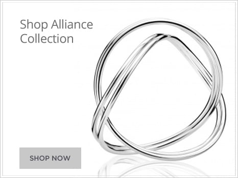 Georg Jensen Alliance Jewellery for Men and Women Wharton Goldsmith