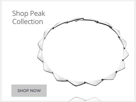 Georg Jensen Peak Jewellery for Men and Women Wharton Goldsmith