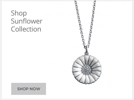 Georg Jensen Sunflower Jewellery for Men and Women Wharton Goldsmith