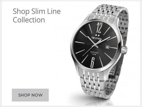 TW Steel Watches Mens Watches Wharton Goldsmith Slim Line