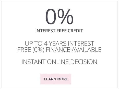 4 years interest free finance available