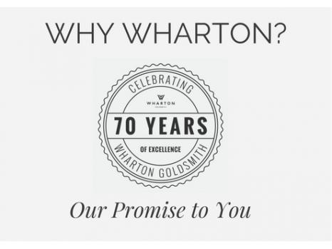 Why buy from Wharton Goldsmith