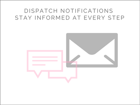 Notifications to keep you informed
