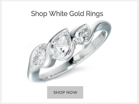 Shop For White Gold Engagement Rings
