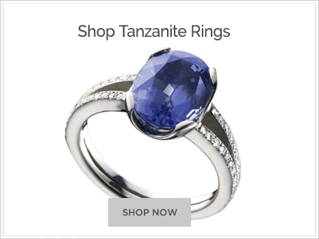 Shop For Tanzanite Engagement Rings