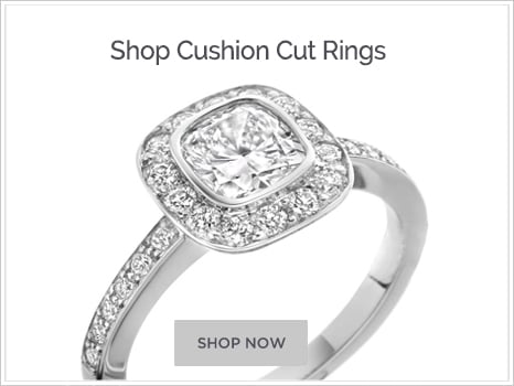 Shop For Cushion Diamond Engagement Rings