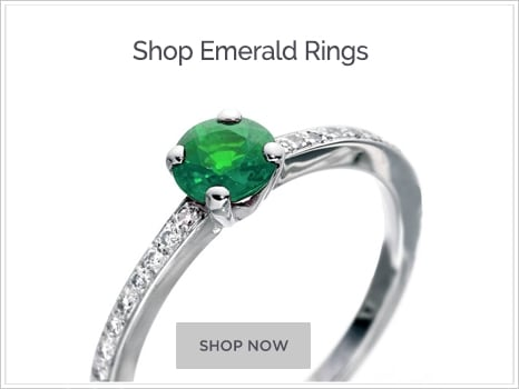 Shop For Emerald Engagement Rings