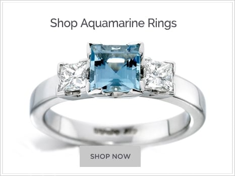 Browse Aquamarine Engagement Rings