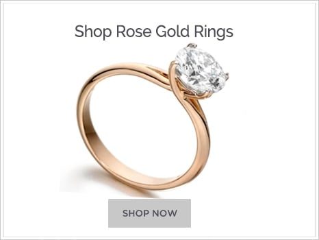 Shop for Rose Gold Engagement Rings