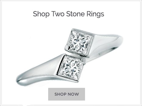 Shop for Two Stone Engagement Rings