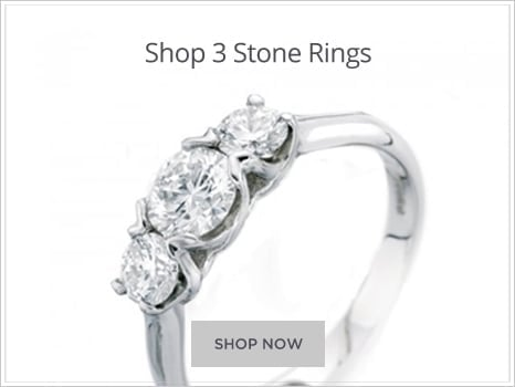 Browse  Three Stone Diamond Engagement Rings