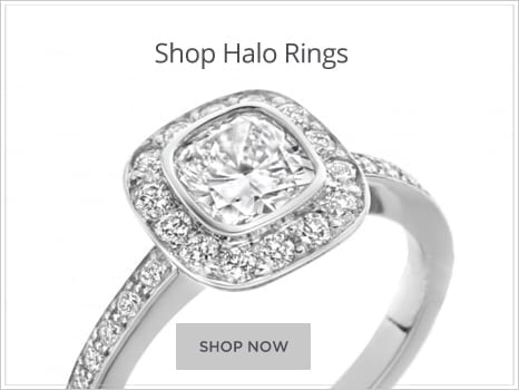 Browse Halo Diamond Engagement Rings