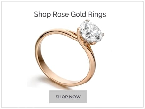 Browse Rose Gold Engagement Rings