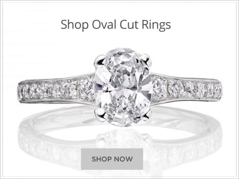 Browse Oval Diamond Engagement Rings