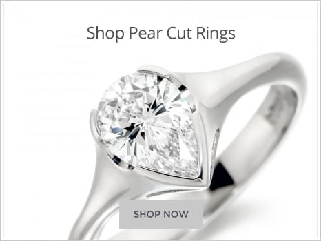 Browse Pear Diamond Engagement Rings