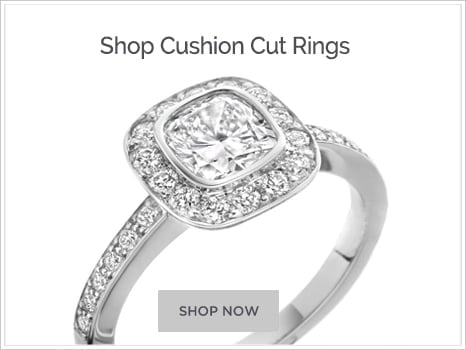 Browse Cushion Cut Diamond Engagement Rings