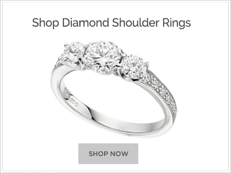 Browse Diamond shoulder Engagement Rings