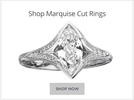 Browse Marquise Cut Diamond Engagement Rings