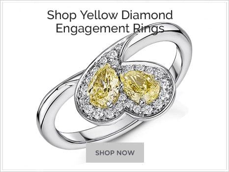 Browse Yellow Diamond Engagement Rings