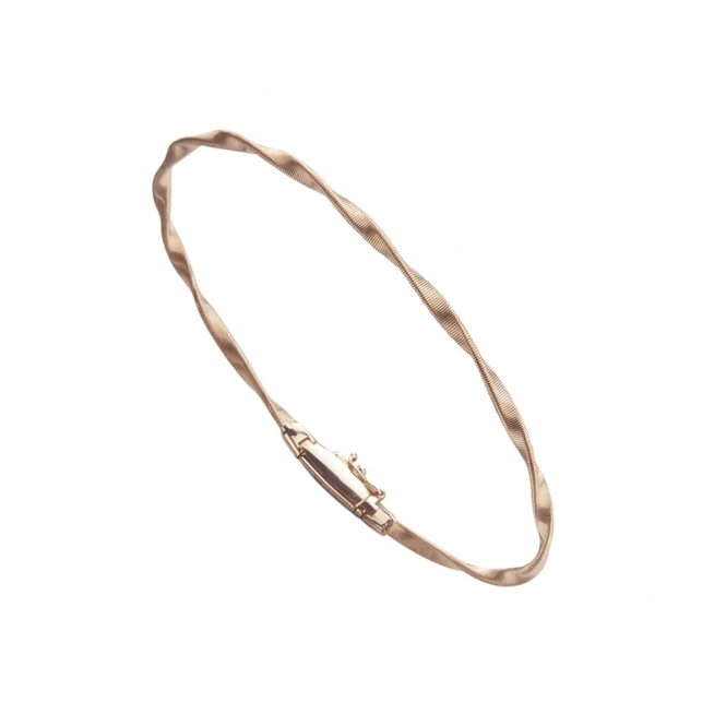 18ct Rose Gold Marrakech Single Strand Bracelet