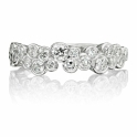 18ct White Gold Diamond Multi Stone Ring 1Y92A
