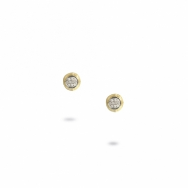 18ct Yellow Gold and Diamond Delicati Stud Earrings