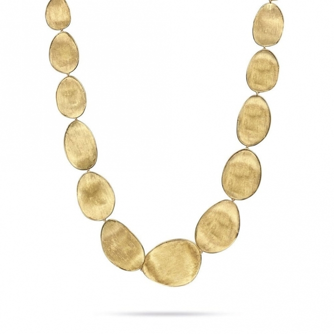 18ct Yellow Gold Lunaria Necklace