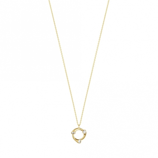 18ct Yellow Gold Magic Pendant with Diamonds