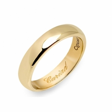 18ct Yellow Gold Windsor 4mm Wedding Ring