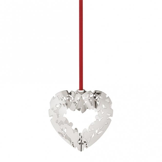 2015 Christmas Palladium Plated Heart