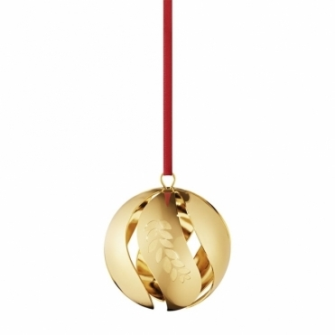 2016 Annual Christmas Gold Plated Ball