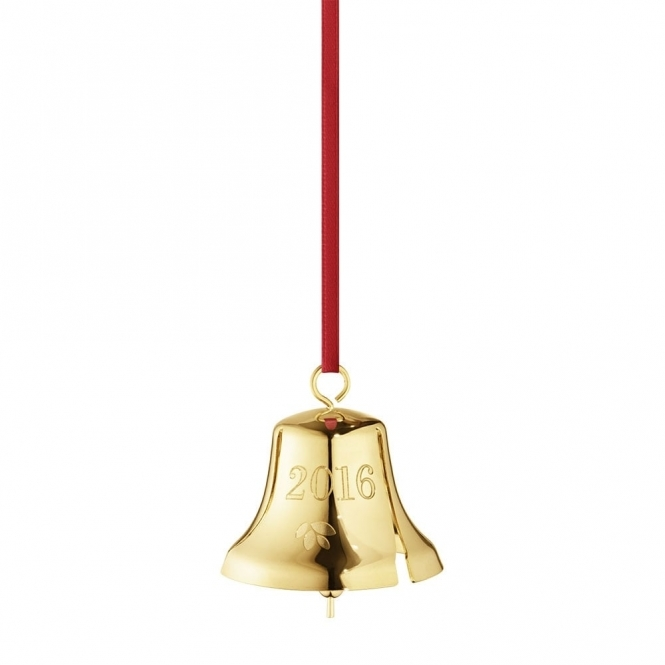 2016 Annual Christmas Gold Plated Bell