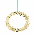 2016 Christmas Gold Magnolia Wall Wreath Decoration