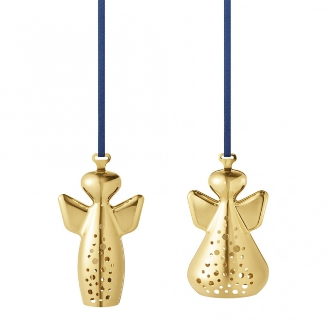 2017 Christmas Gold Plated Angel Ornaments