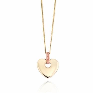9ct Gold Cariad Pendant