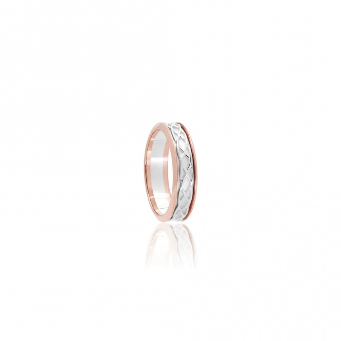 9ct Gold & Silver Annwyl  Ring